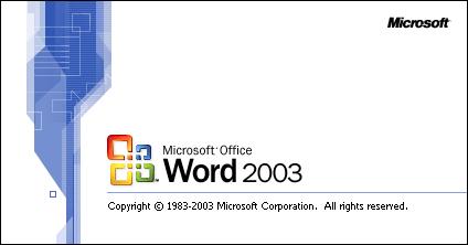 Baixar Word 2003